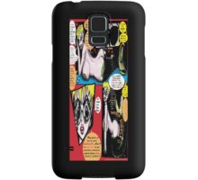 """Space Chick & Nympho: Vampire Warrior Party Girl Comix #1- Comic Page """"Feels Like A Kiss"""" Samsung Galaxy Case/Skin"""
