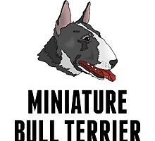 Miniature Bull Terrier by kwg2200