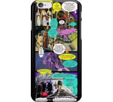 """Code Name: King #2"" Comic Book Page Art - 'No Horse Fartin' in The Caddy' iPhone Case/Skin"