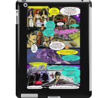"""Code Name: King #2"" Comic Book Page Art - 'No Horse Fartin' in The Caddy' iPad Case/Skin"