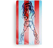 RHR Patriot Girl Canvas Print