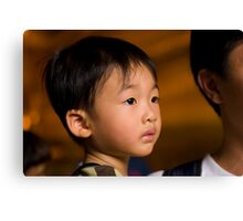 Young Buddhist Canvas Print