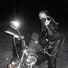 Gina....and her Sportster...........you go girl...... by lcjane