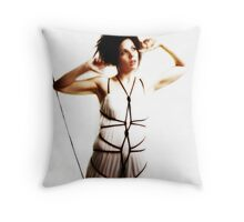 Tethered Butterfly Throw Pillow