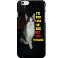 Sophia The Cat #2 [Tex's Owner] iPhone Case/Skin
