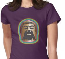 Rainbow Glow Womens Fitted T-Shirt