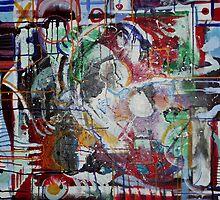 Enigmatic (Acrylics)- by Robert Dye