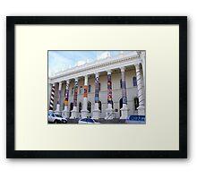 Cosy Columns 19 Framed Print