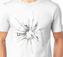 Breaking glass Unisex T-Shirt