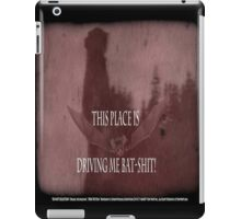 "'Orlock, the Vampire #2' (as killer vampire bat),  FROM THE FILM "" Nosferatu vs. Father Pipecock & Sister Funk (2014) iPad Case/Skin"
