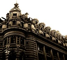 City Building Buenos Aries by Juilee  Pryor