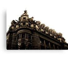 City Building Buenos Aries Canvas Print