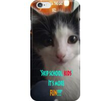 Sophia The Cat # 4 [Tex's Owner] iPhone Case/Skin