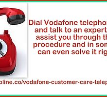 Vodafone Telephone Number-One Solution to All Your Troubles by harrypattersons