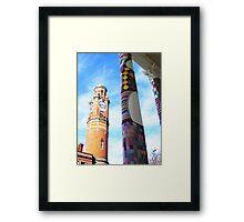 Cosy Columns 4 Framed Print