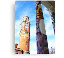 Cosy Columns 4 Canvas Print