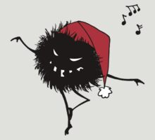 Evil Christmas Bug T-Shirt by Boriana Giormova