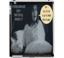 "'Ellen Hutter', FROM THE FILM "" Nosferatu vs. Father Pipecock & Sister Funk (2014)"" iPad Case/Skin"