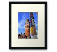 Cosy Columns 10 Framed Print