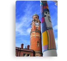 Cosy Columns 10 Canvas Print