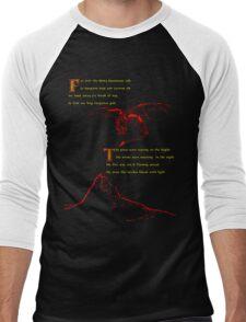 Lonely Mountain Men's Baseball ¾ T-Shirt