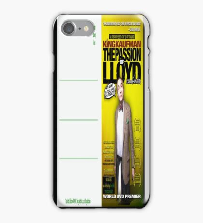 King Kaufman: The Passion of Lloyd (2008) - Movie Poster Postcard iPhone Case/Skin