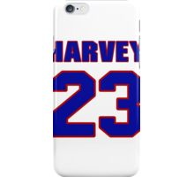 National football player Maurice Harvey jersey 23 iPhone Case/Skin