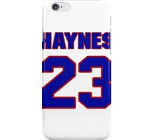 National football player Hall Haynes jersey 23 iPhone Case/Skin