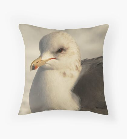 California Gull-Sugarhouse Park, Utah Throw Pillow