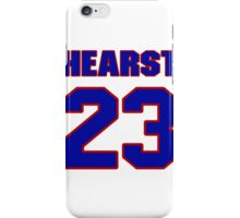 National football player Garrison Hearst jersey 23 iPhone Case/Skin