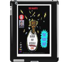 Bird of Steel Comix Cover - Red Bubble -NEW  UNDERGROUND POP ART SERIES! iPad Case/Skin