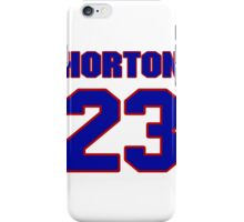 National football player Ethan Horton jersey 23 iPhone Case/Skin