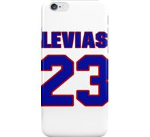 National football player Jerry LeVias jersey 23 iPhone Case/Skin