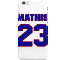 National football player Dedric Mathis jersey 23 iPhone Case/Skin