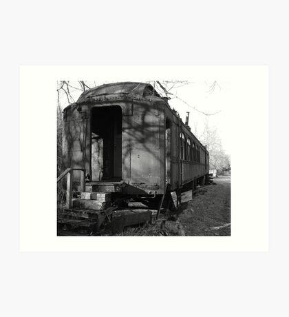 Sleeping Train Car Art Print