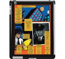 Bird of Steel Comix – # 7 of 8   - (Red Bubble POP-ART COLLECTION SERIES) iPad Case/Skin