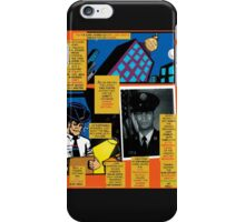 Bird of Steel Comix – # 7 of 8   - (Red Bubble POP-ART COLLECTION SERIES) iPhone Case/Skin