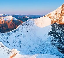Ben Nevis at sunrise, Scotland by Justin Foulkes