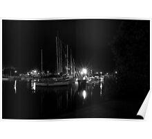 "Yacht Masks"" Poster"