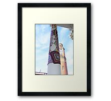 Cosy Columns 6 Framed Print