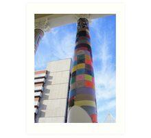 Cosy Columns 9 Art Print