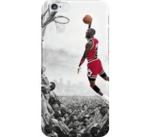 MJ - Taking Flight iPhone Case/Skin