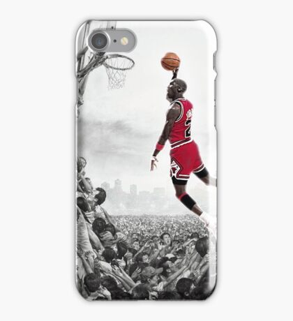 MJ - Taking Flight iPhone Case/Skin