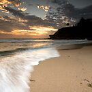 Turimetta Beach Sunrise, Narabeen by Daniel  Speranza