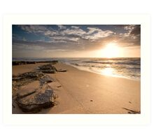 Turimetta Beach Sunrise Art Print