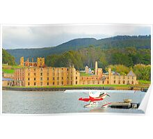 Memories of New And Old - Port Arthur Historic Site, Tasmania Australia Poster