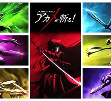 Akame ga Kill! Night Raid [Akame Center] by Jonathan Masvidal