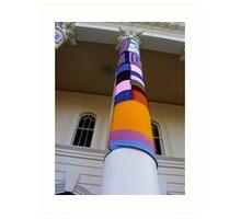 Cosy Columns 15 Art Print
