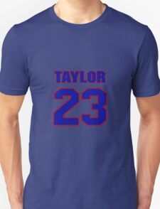 National football player Cordell Taylor jersey 23 T-Shirt