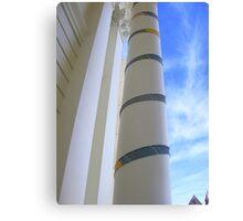 Cosy Columns 12 Canvas Print